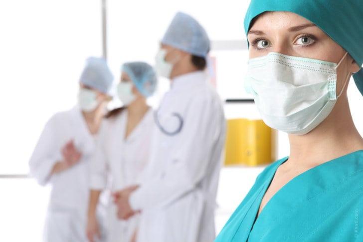 Transplante de órgãos - equipe médica