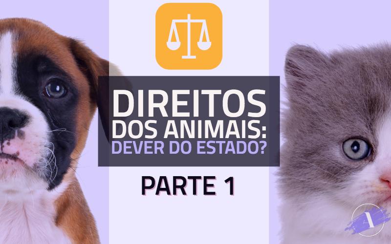 Direitos dos animais: dever do Estado? Parte 1