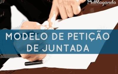 Petição de juntada – modelo de petição
