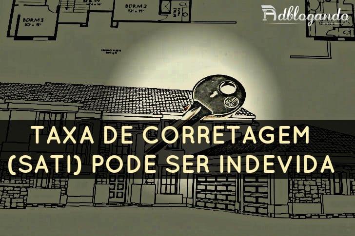 Taxa de Corretagem - SATI