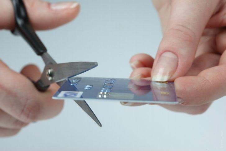 Cartão de crédito de falecido