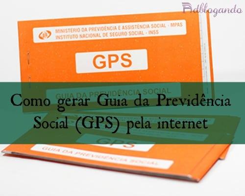 Bloco carnê GPS