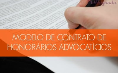 Modelo de Contrato de Honorários Advocatícios