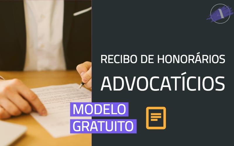 Modelo de Recibo de Honorários Advocatícios