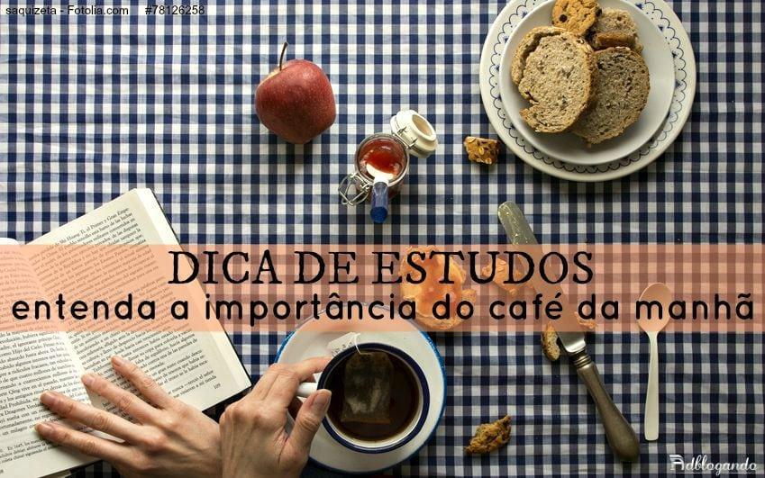 Rendimento nos estudos e a importância do café da manhã